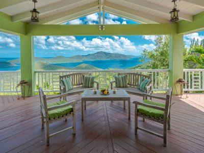 St john villa rental Casa Luna , Coral Bay