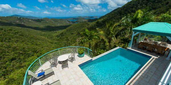 St John villa rental - Chateau Margot, Coral Bay