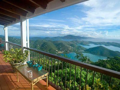 Skyflower Villa overlooking Coral Bay, St John US Virgin Islands