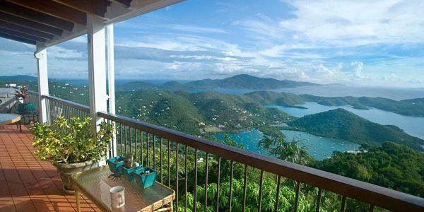 Skyflower Villa overlooking Coral Bay, St John US Virgin Islands