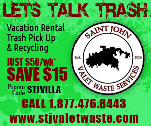 St John Valet Waste - Villa Rental trash pick up services