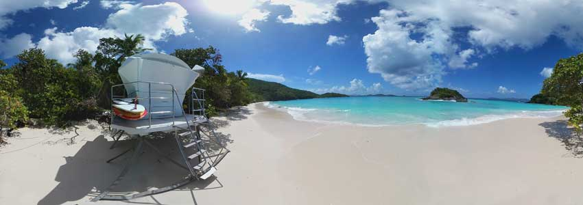 Trunk Bay Beach, St John, US Virgin Islands National Park