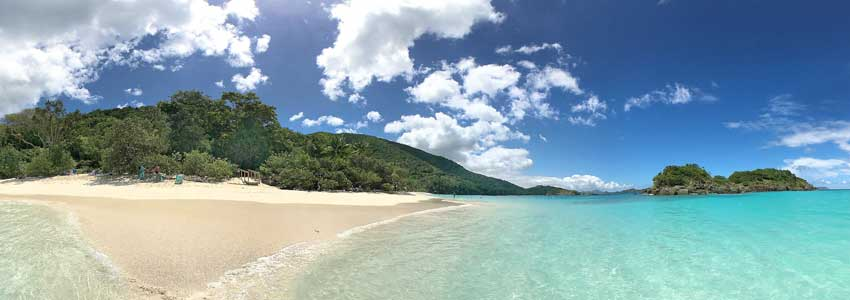 Trunk Bay Beach, St John USVI
