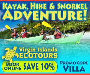 Virgin Islands Ecotours - kayak, hike and snorkel adventures