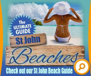 St John Beach Guide banner