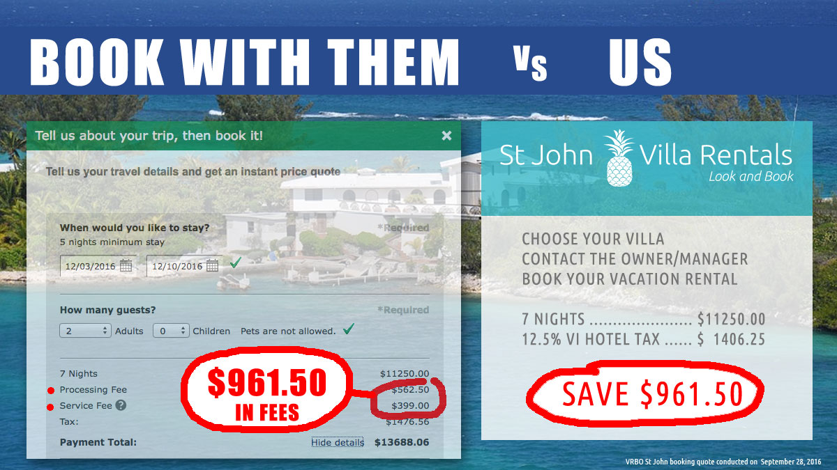 St John vacation rentals guide