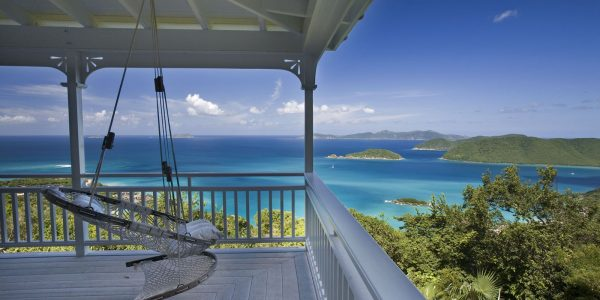 Cinnamon Stones villa, St john vacation rental view from deck