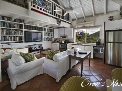 Crow's Nest studio vacation rental Coral Bay