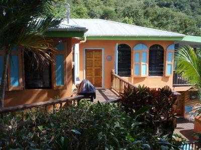 St John rental Island Breeze Villa Coral Bay