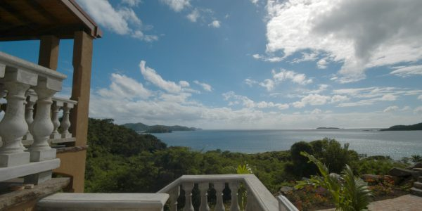 Secret Seashell Villa, St John rental view of Coral Bay