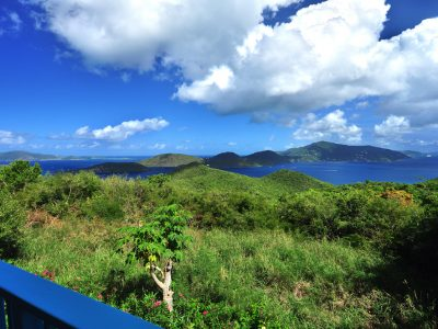 Skyridge Villa, St John view