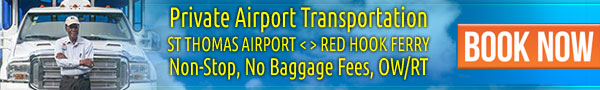 St Thomas airport to Red Hook ferry taxi service USVI