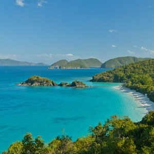 Trunk Bay Beach, St John, US Virgin Islands