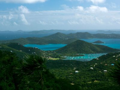 All About The View, St John villa and view of Coral Bay