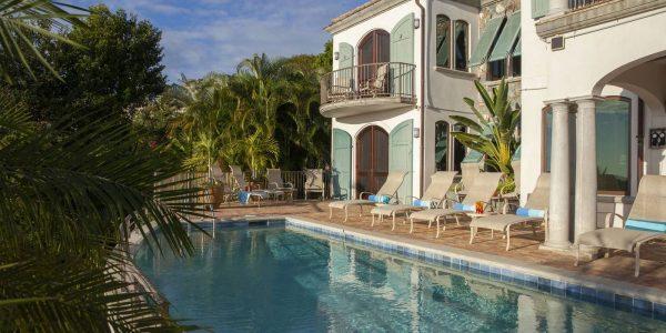 Blue Papaya Villa Virgin Grand Estates St John pool view