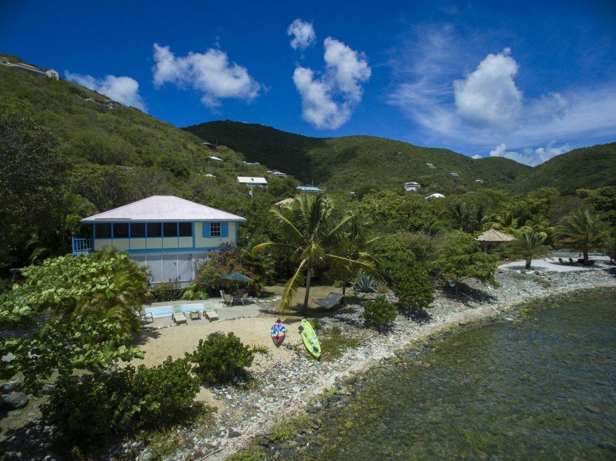 Calypso Cove Villa, St John aerial