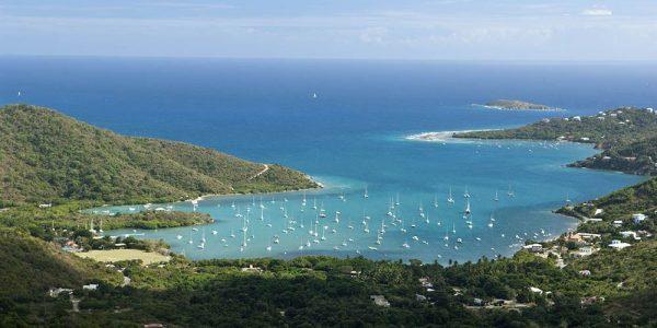Caribbean Jewels Villa view of Coral Bay, St John