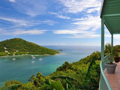 Coco Caribe Villa, St John Fish Bay view
