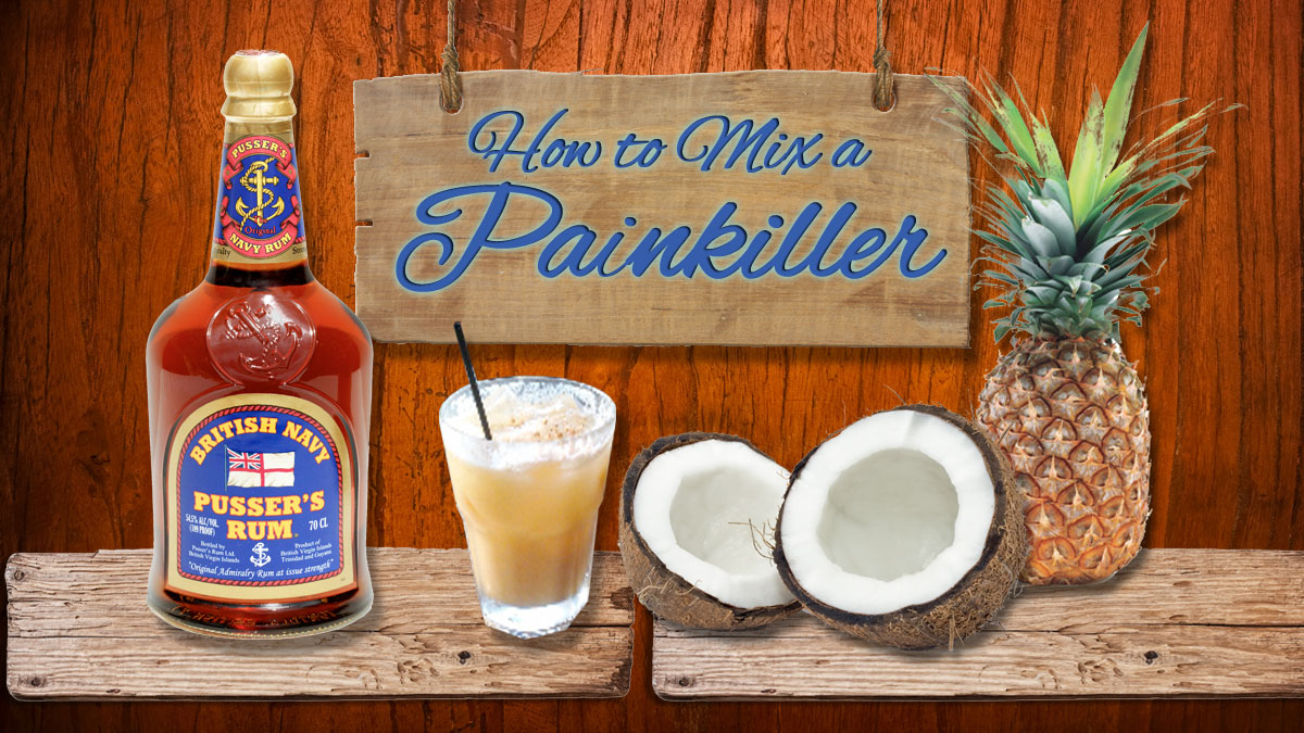 Soggy Dollar Painkiller recipe