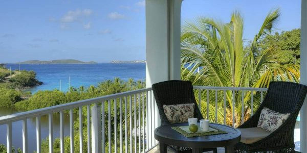 Palm Terrace Villa Penthouse, St John view