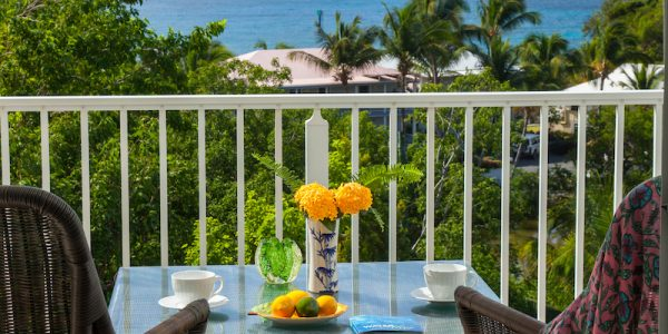 Tropical Blessings Villa, St John outdoor seating and view