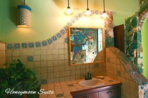 Peter Bay Gatehouse Honeymoon Suite bathroom