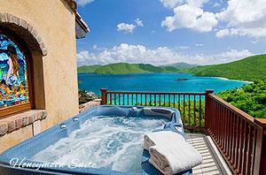 Peter Bay Gatehouse Honeymoon Suite spa