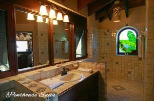 Peter Bay Gatehouse Penthouse Suite bath