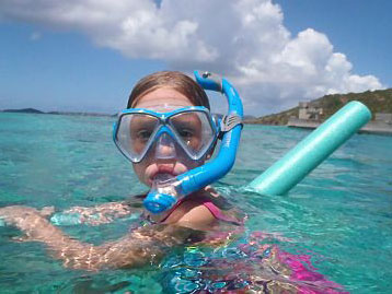 1/2 day snorkeling charters, St John USVI
