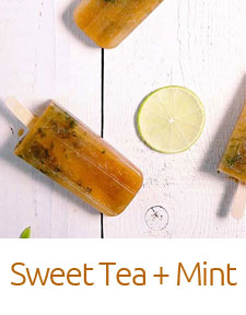 Sweet Tea + Mint Irie Pops