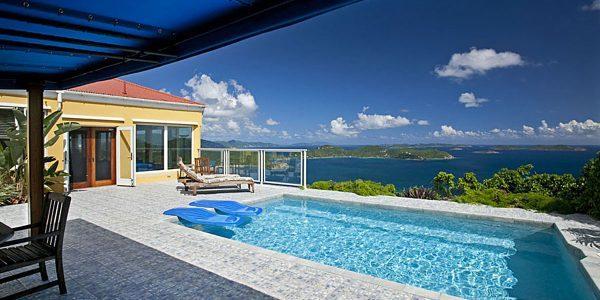 Moonswept Villa Coral Bay St John USVI