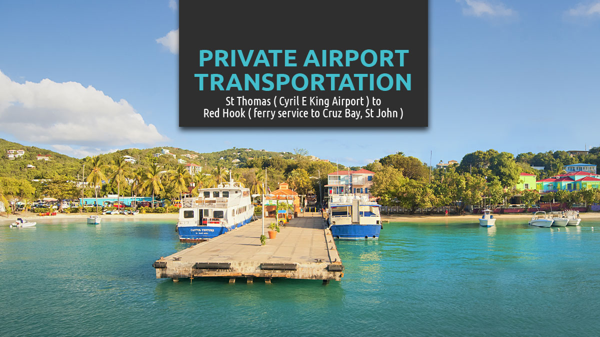 St Thomas airport to Red Hook taxi service