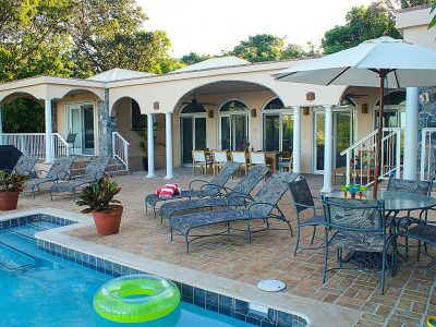 Villa Solare, St John pool