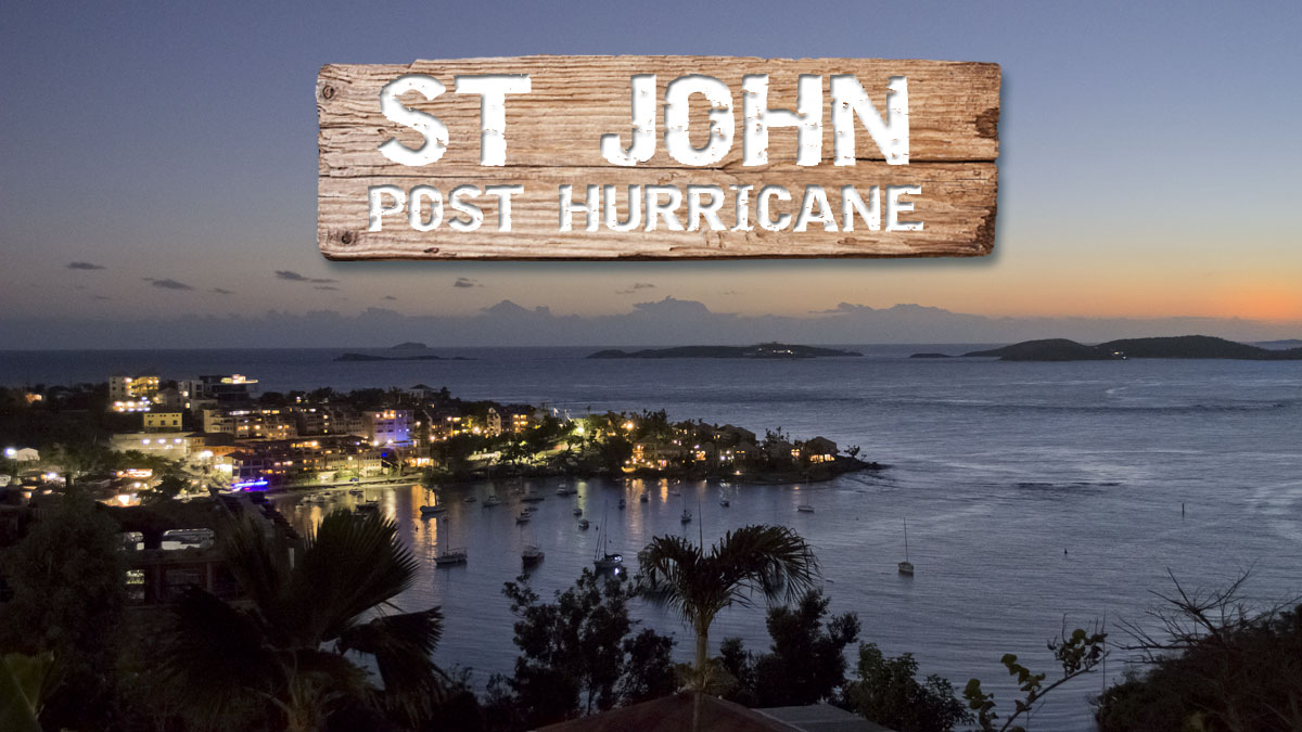 St John after hurricane Irma