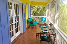 Tropical Tree House Cottage, St john vacation rental