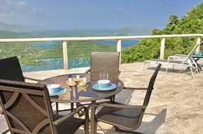Villa Celeste, Coral Bay St John villa rental