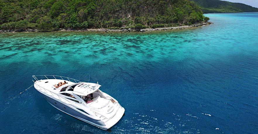 Calichi Day Charter St John snorkeling tours