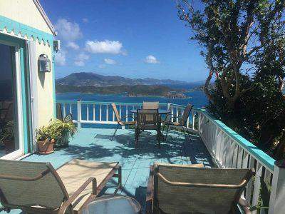 Fair winds Cottages, Coral Bay, St John USVI vacation rental
