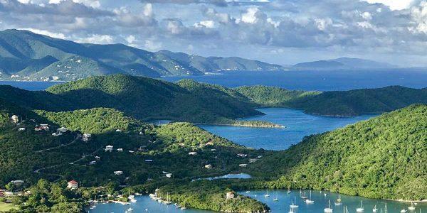 Villa Celeste, Coral Bay vacation rental ocean view
