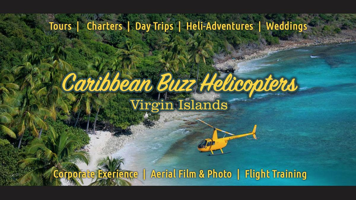 Caribbean Buzz Helicopter Tours US Virgin Islands activities