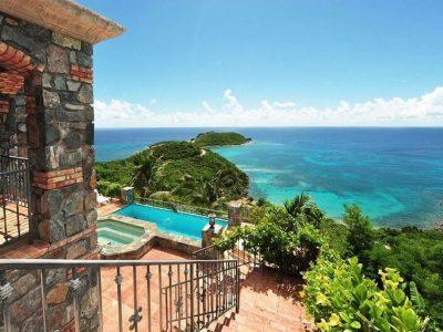 Casa Del Sol, St John vacation rental ocean view