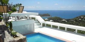 Magic View Villa St John USVI pool view