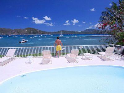 Rainbow Beach House Coral Bay St John USVI beachfront vacation rental