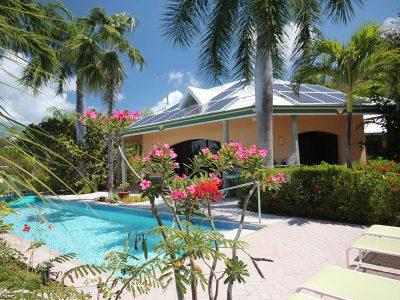Tennis Villa St John vacation rental US Virgin Islands