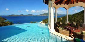 Villa Andara St John USVI pool view