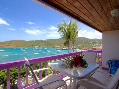 Bayview Penthouse Lavender Hill Condos Cruz Bay St John vacation rental