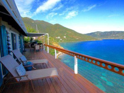 Cliffhanger St John vacation rental
