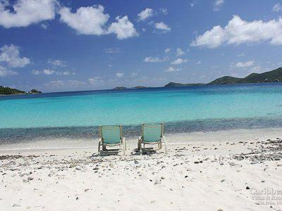 Beach Cottage St John vacation rental beachfront