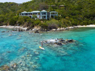 East of Eden Villa beachfront St John vacation rental