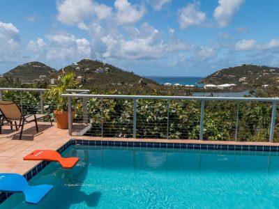 Down Yonder Pool Villa St John vacation rental